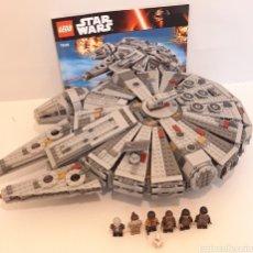 Juegos construcción - Lego: HALCÓN MILENARIO STAR WARS LEGO ORIGINAL 75105. Lote 269409628