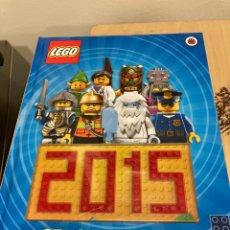 Juegos construcción - Lego: ANUARIO DE LEGO AÑO 2015 EN INGLÉS. Lote 269822013