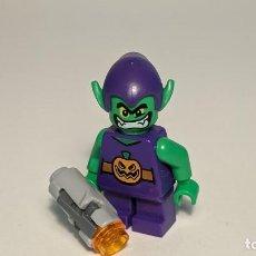 Juegos construcción - Lego: GREEN GOBLIN (SHORT LEGS) 76064 - LEGO SUPERHEROES LEGO MINIFIGURE - SH249. Lote 269959058
