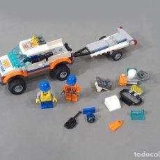Juegos construcción - Lego: LEGO REF 60012 4X4 DIVING BOAT - RESCATE. Lote 269966188