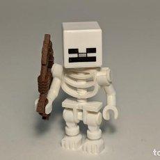 Juegos construcción - Lego: SKELETON (CUBE SKULL) 21118 - LEGO MINECRAFT LEGO MINIFIGURE - MIN011. Lote 269966368