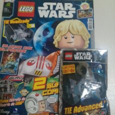 Juegos construcción - Lego: LEGO REVISTA NUEVA STAR WARS 22 ABRIL 2017 SOBRE PRECINTADO NAVE LIMITADA TIE AVANZADO NAVE MINI. Lote 270106963
