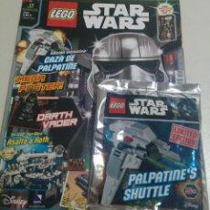 Juegos construcción - Lego: LEGO REVISTA NUEVA STAR WARS 17 NOVIEMBRE 2016 SOBRE PRECINTADO LIMITADA CAZA PALPATINE NAVE MINI. Lote 270107188