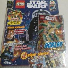 Juegos construcción - Lego: LEGO REVISTA NUEVA STAR WARS 12 JUNIO 2016 SOBRE PRECINTADO LIMITADA ACKLAY ROBOT MINI. Lote 270107493