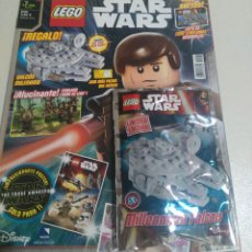 Juegos construcción - Lego: LEGO REVISTA NUEVA STAR WARS 7 ENERO 2015 SOBRE PRECINTADO LIMITADA MINI HALCON MILENARIO. Lote 270107943