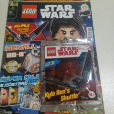 Juegos construcción - Lego: LEGO REVISTA NUEVA STAR WARS 31 SOBRE PRECINTADO LIMITADA MINI NAVE ENERO 2018 KYLO REN'S SHUTTLE. Lote 270108668