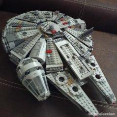 Juegos construcción - Lego: LEGO STAR WARS 75105 HALCÓN MILENARIO INCLUYE 5 FIGURAS. Lote 270753108