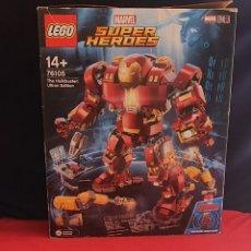 Juegos construcción - Lego: LEGO SUPER HEROES MARVEL COMPLETO. Lote 271140948