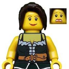 Juegos construcción - Lego: LEGO ORIGINAL MINIFIGURA FANTASY ERA MUJER CAMPESINA CAS412. Lote 271374028