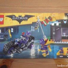 Juegos construcción - Lego: LEGO BATMAN 70902 MOTO FELINA DE CATWOMAN USADO COMPLETO PERFECTO ESTADO. Lote 271639538