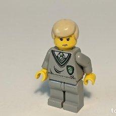 Juegos construcción - Lego: DRACO MALFOY 4735 - LEGO HARRY POTTER LEGO MINIFIGURE - HP040. Lote 271640718
