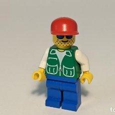 Juegos construcción - Lego: MAN W/ JACKET GREEN 6539 - LEGO CLASSIC TOWN LEGO MINIFIGURE - PCK001. Lote 271642428