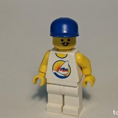 Juegos construcción - Lego: MAN SURFBOARD ON OCEAN 6597 10159 6414 - LEGO CLASSIC TOWN LEGO MINIFIGURE - PAR031. Lote 271646098