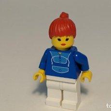 Juegos construcción - Lego: WOMAN JOGGI SUIT 1254 6418 - LEGO CLASSIC TOWN LEGO MINIFIGURE - PAR024. Lote 271655803