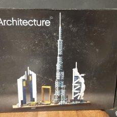 Jogos construção - Lego: JUEGO DE CONSTRUCCIÓN LEGO ARCHITECTURE RF21052 DUBAI UNITED ARAB EMIRATES. Lote 271805838