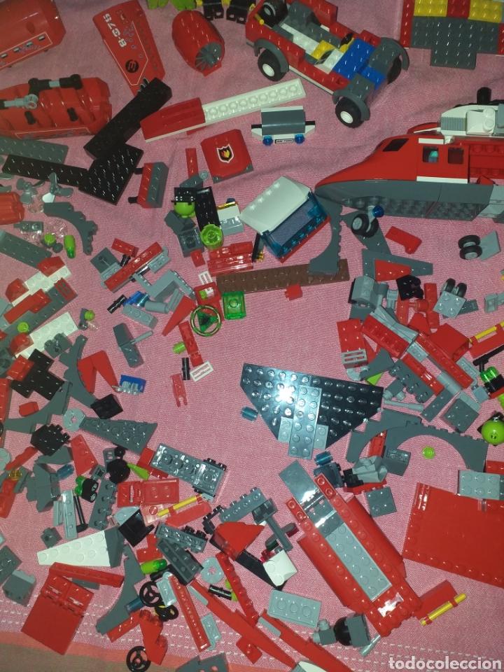 Juegos construcción - Lego: despiece de lego helicóptero bomberos más atlantis - Foto 4 - 272286433