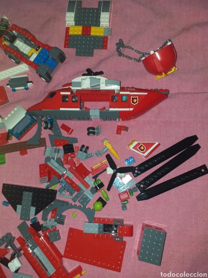Juegos construcción - Lego: despiece de lego helicóptero bomberos más atlantis - Foto 5 - 272286433