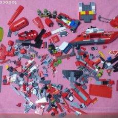 Juegos construcción - Lego: DESPIECE DE LEGO HELICÓPTERO BOMBEROS MÁS ATLANTIS. Lote 272286433