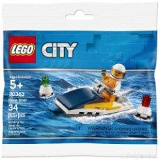Juegos construcción - Lego: LOTE LEGO CITY Nº 30363 - MOTO ACUATICA. Lote 273018278