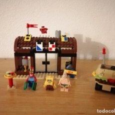 Juegos construcción - Lego: LEGO BOB ESPONJA 3833 - AVENTURAS EN EL KRUSTÁCEO KRUJIENTE. Lote 275148313