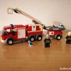 Juegos construcción - Lego: LEGO CITY 7239 - CAMIÓN DE BOMBEROS. Lote 275148793