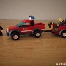 Juegos construcción - Lego: LEGO CITY 7942 - RESCATE DE BOMBEROS TODOTERRENO. Lote 275148998