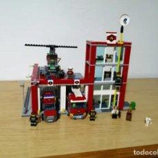 Juegos construcción - Lego: LEGO CITY 60004 - ESTACIÓN DE BOMBEROS. Lote 275149123