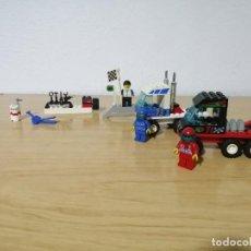 Juegos construcción - Lego: LEGO SYSTEM 6424 - CAMIONES DE CARRERA. Lote 275151898