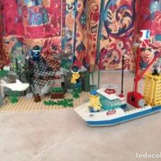 Juegos construcción - Lego: LEGO SYSTEM 6558 - CALA DE LA JAULA DEL TIBURÓN. Lote 275152468