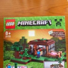 Juegos construcción - Lego: LEGO 21115 MINECRAFT-LA PRIMERA NOCHE-2015-NUEVO Y PRECINTADO-MUY DIFICIL EN ESTE ESTADO. Lote 275310978