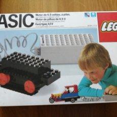 Juegos construcción - Lego: LEGO BASIC MOTOR DE 4,5 V. A PILAS REF. 810 AÑO 1985 NUEVO SIN ABRIR. Lote 276063623