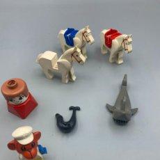 Jogos construção - Lego: LEGO SURTIDO DE PIEZAS CABALLO TIBURÓN FIGURA. Lote 276292278