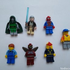 Juegos construcción - Lego: LOTE DE 7 MUÑECOS LEGO FAMOSOS ( LEER DESCRIPCIÓN ). Lote 276294883
