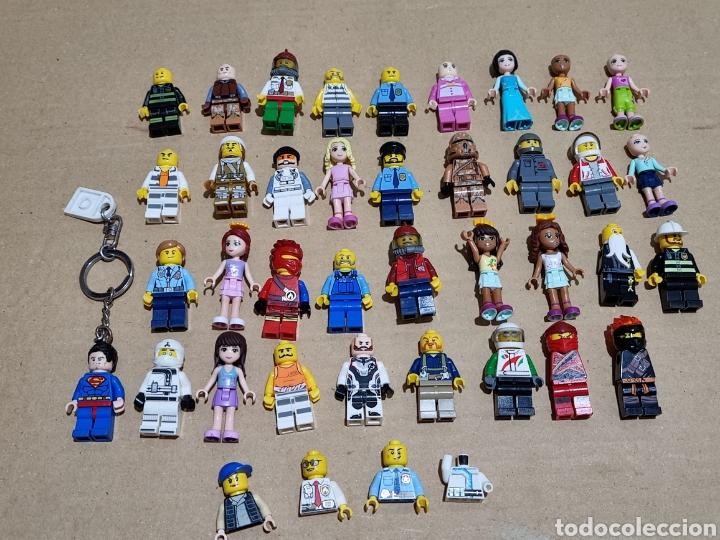 LOTE DE FIGURITAS LEGO (Juguetes - Construcción - Lego)