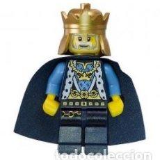 Juegos construcción - Lego: LLAVERO LEGO 850884 REY DEL CASTILLO (SERIE CASTLE). NUEVO!!. SUELTO CON ETIQUETAS.. Lote 277096903
