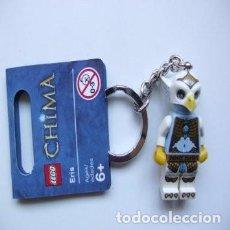 Juegos construcción - Lego: LLAVERO LEGO 850607 FIGURA DE ERIS (LEGENDS OF CHIMA). NUEVO!!. CON ETIQUETAS.. Lote 277187103