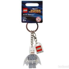 Juegos construcción - Lego: LLAVERO LEGO 850815 SUPER HEROES ARCTIC BATMAN (DC UNIVERSE). NUEVO!!. SUELTO, CON ETIQUETAS.. Lote 277187683