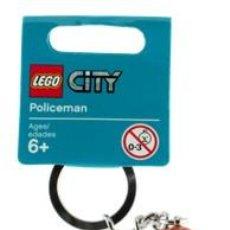 Juegos construcción - Lego: LLAVERO LEGO 853091 AGENTE DE POLICÍA (SERIE LEGO CITY). NUEVO!!. (SUELTO EN BOLSITA). Lote 277188803