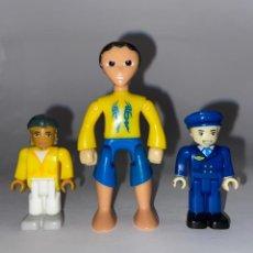 Juegos construcción - Lego: LOTE DE 3 FIGURAS ARTICULABLES TIPO LEGO. Lote 277198173