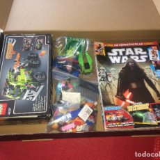 Juegos construcción - Lego: LEGO STAR WARS - LOTE DE 13 REVISTAS Y FIGURAS - TODO EN LAS IMÁGENES - ¡¡¡ POR SÓLO 1 EURO SALIDA !. Lote 277238718
