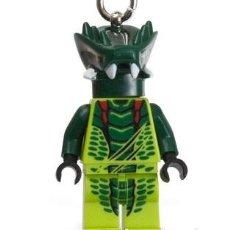 Juegos construcción - Lego: LLAVERO LEGO 850443 VENOMARI WARRIOR FIGURA DE NINJAGO. NUEVO (SUELTO, EN BOLSITA).. Lote 277253093