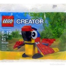 Juegos construcción - Lego: LEGO CREATOR 30472 LORO (PARROT). PRODUCTO EN SOBRE.. Lote 277253958