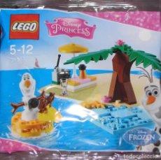 Juegos construcción - Lego: LEGO 30397 OLAF FROZEN DIVERSIÓN EN LA PLAYA (DISNEY PRINCESS). NUEVO, EN BOLSITA!!.. Lote 277255043