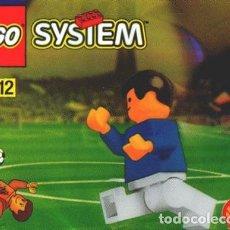 Juegos construcción - Lego: LEGO 3305 MINIFIGURA DE FUTBOLISTA SHELL ¿FRANCIA 98? (EN SOBRE). Lote 277256528
