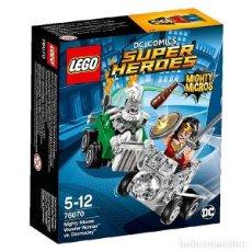 Juegos construcción - Lego: LEGO 76070 WONDER WOMAN VS. DOOMSDAY (DC COMICS MIGHTY MICROS). NUEVO, EN BOLSITA!!.. Lote 277257163