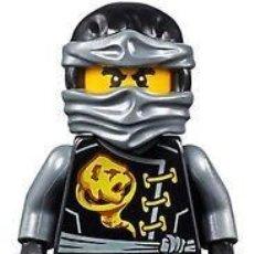 Juegos construcción - Lego: LLAVERO LEGO FIGURA DE SKYBOUND COLE NINJAGO 853538. NUEVO!!.. Lote 277258853