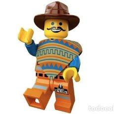 Juegos construcción - Lego: LEGO 5002204 FIGURA DE WESTERN EMMET EN SOBRE (LEGO THE MOVIE). NUEVO EN SOBRE!!.. Lote 277261143