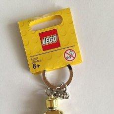 Juegos construcción - Lego: LEGO 850807 LLAVERO DE FIGURA DORADA. NUEVO!!.. Lote 277263223