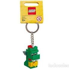 Juegos construcción - Lego: LLAVERO LEGO 850771 DRAGÓN VERDE / BRICKLEY BAG CHARM. NUEVO!!.. Lote 277290448
