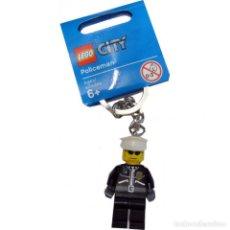 Juegos construcción - Lego: LLAVERO LEGO 851626 FIGURA DE POLICÍA (SERIE CITY). NUEVO!!.. Lote 277290728